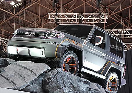 トヨタ車体 東京モーターショー2015 ブースレポート Land Cruiser Xj700